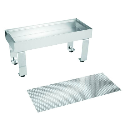 BUNN 06465.0000 Drip Tray Assembly, Stainless Steel -Perf Cvr