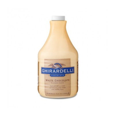 Ghirardelli Sauce White Chocolate 89.4 oz.