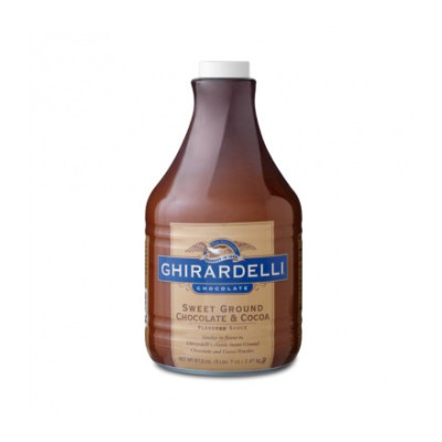 Ghirardelli Sauce SWEET Ground Chocolate & Cocoa 87.3 oz.
