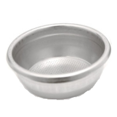 Argenta Filter 2 Cups Double Basket S/S 22 + Notch - 27176