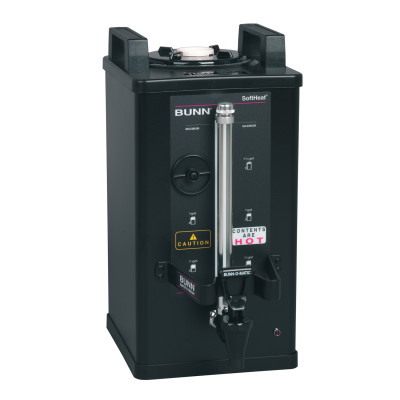 27850.0004 BUNN SH SERVER, 1.5G/5.7L BLK NO FL