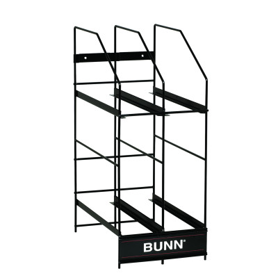 36760.0001 BUNN HOPPER RACK, MHG 4 POSITION