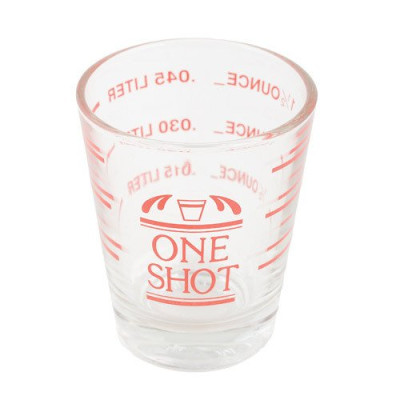 Scored Shot Glass 1.5 oz