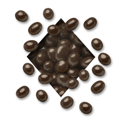 SUGAR FREE DARK Chocolate Covered Espresso Coffee Beans (sold in 5 lb. bags)