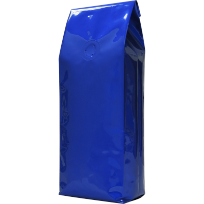 Bag 16oz foil BLUE