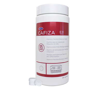 Urnex Cafiza Espresso Machine Cleaning TABLETS, 100 Tablets E31