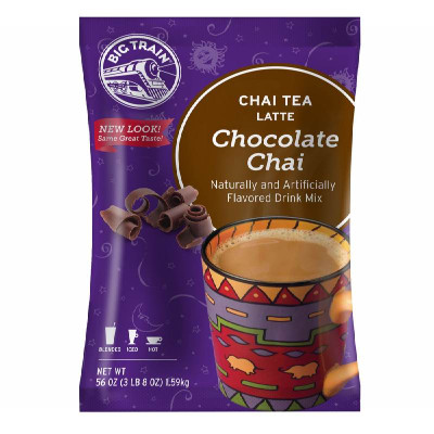 Chocolate Chai Tea Latte Mix 3.5 lb Bulk Bag