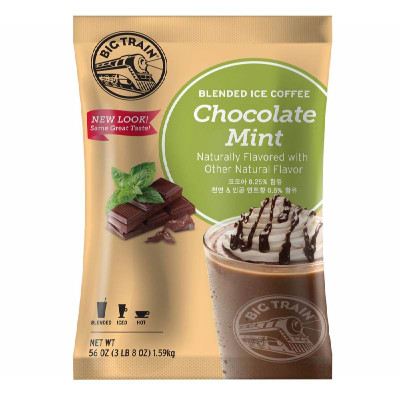 Chocolate Mint Blended Ice Coffee Mix 3.5 lb Bulk Bag
