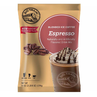 Espresso Blended Ice Coffee Mix 3.5 lb Bulk Bag