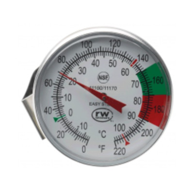Large dial steaming thermometer - CDN