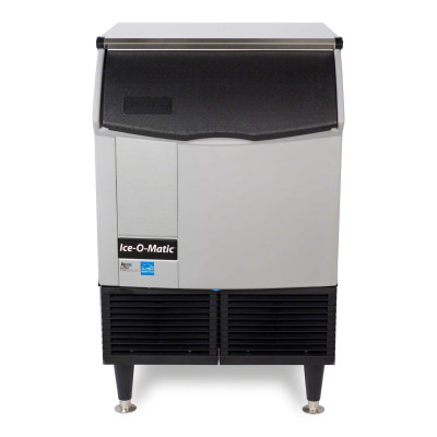ICEU220HA Ice-O-Matic - 238 Lb Self-Contained Half Cube Ice Machine, Air Cooled