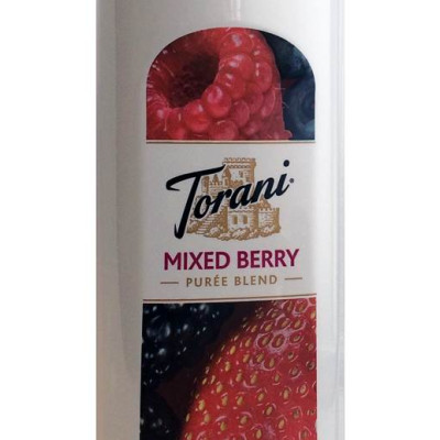 Torani Puree Mixed Berry Smoothie Mix - New Design & Size!