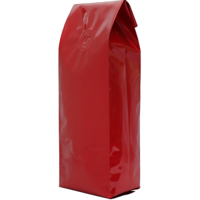 Bag 8oz foil RED