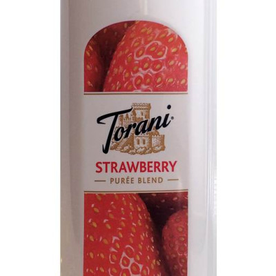 Torani Puree Strawberry Smoothie Mix New Size