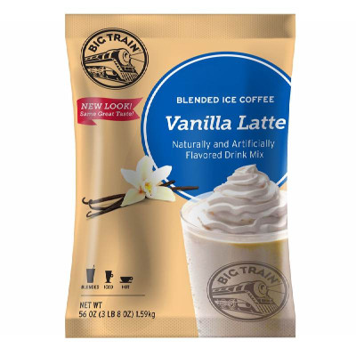Vanilla Latte Bulk Blended Ice Coffee Mix 3.5 lb Bulk Bag