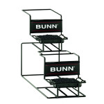 35728.0000 BUNN RACK ASSY,UNIV-2 APR-1 L/1U
