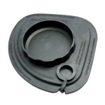 Vitamix 58999 Rubber splash lid with tethered lid plug, for Advance container.