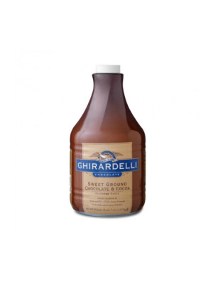Ghirardelli Sauce SWEET Ground Chocolate & Cocoa 64 oz.