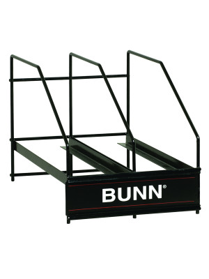 36760.0000 BUNN HOPPER RACK, MHG 2 POSITION