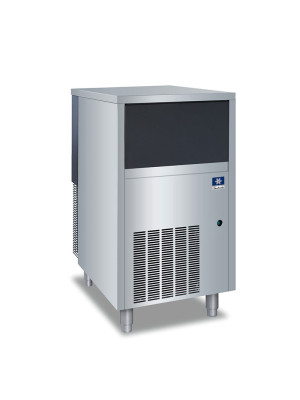 "Manitowoc RNS-0244A 19 3/4"" Air Cooled Undercounter Nugget Ice Machine with 40 lb. Bin - 172 lb."