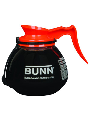 42401.0203 BUNN DECANTER,GLASS-ORN 12C 3/CS RFID