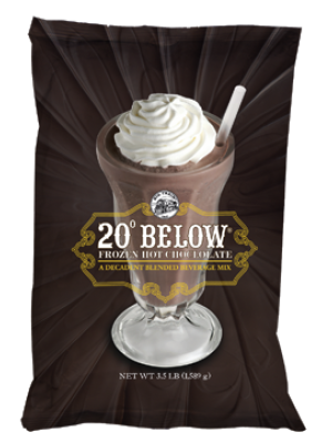 20° Below Frozen Hot Chocolate Mix 3.5 lb Bulk Bag