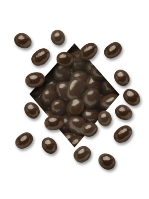 SUGAR FREE DARK Chocolate Covered Espresso Coffee Beans (5 lb. bag)
