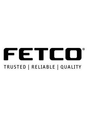 Fetco ITD-2135  - Manual Pull Faucet3 .5 Gallon Slim Profile Iced Tea Dispenser with Iced Tea Graphic
