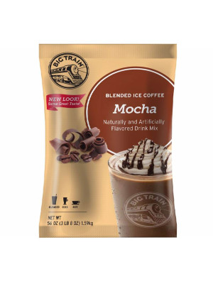 Mocha Blended Ice Coffee Mix 3.5 lb Bulk Bag
