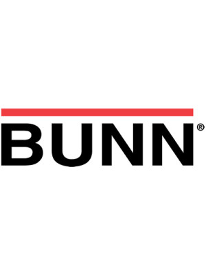 BUNN 12249.0001 Guide Rail, Stainless Steel (7.62 Lg)