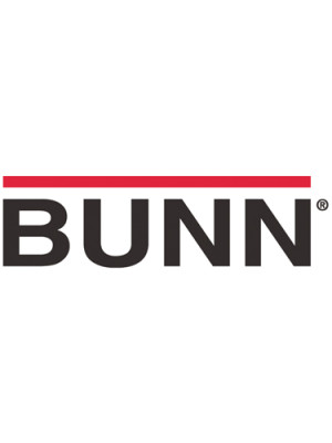42400.0103 BUNN DECANTER,GLASS-BLK 12C 3/CS