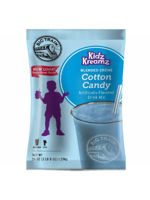 Cotton Candy Kidz Kreamz Frappé Mix 3.5 lb Bulk Bag