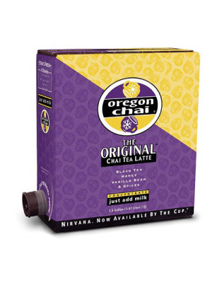 Oregon Liquid Chai Original 1.5 gallon box