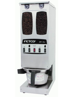 Fetco Dual Hopper Portion Control Coffee Grinder GR-2.2  (4 Batch Buttons)