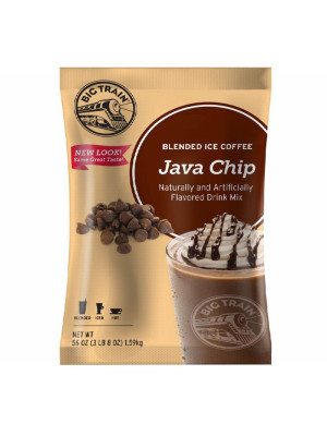 Java Chip Blended Ice Coffee Mix 3.5 lb Bulk Bag