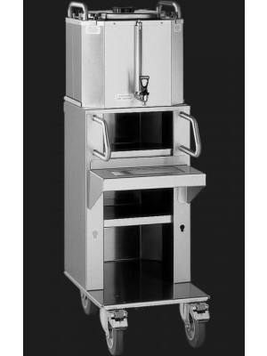 Fetco LBD-6C - 6 Gallon Capacity with Rolling Shelf & Cart System