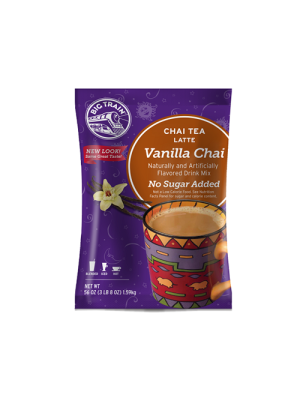 Vanilla Chai No Sugar Added (NSA) Blended Ice Coffee Mix 3.5 lb Bulk Bag