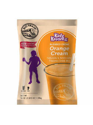 Orange Cream Kidz Kreamz Frappé Mix 3.5 lb Bulk Bag
