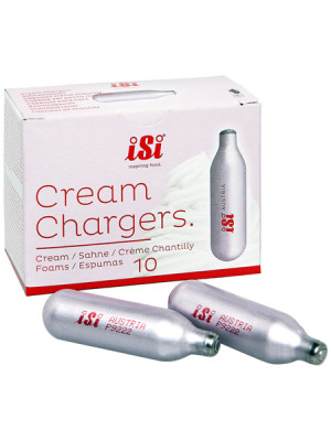 ISI Cream Chargers Clam Shell 10 pack