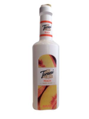 Torani Puree Peach Smoothie Mix - New Design & Size!