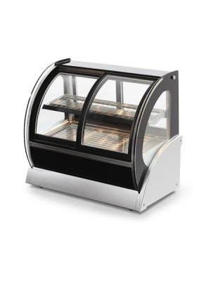 Vollrath 40881 48in. Refrigerated Countertop Display Case Curved Glass