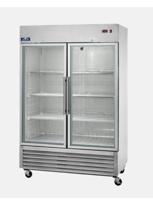 Arctic Air AGR49 TWO DOOR REACH-IN REFRIGERATOR - GLASS