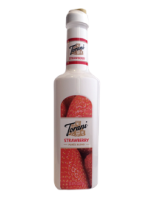 Torani Puree Strawberry Smoothie Mix New Bottle