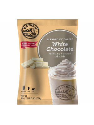 White Chocolate Latte Blended Ice Coffee Mix 3.5 lb Bulk Bag